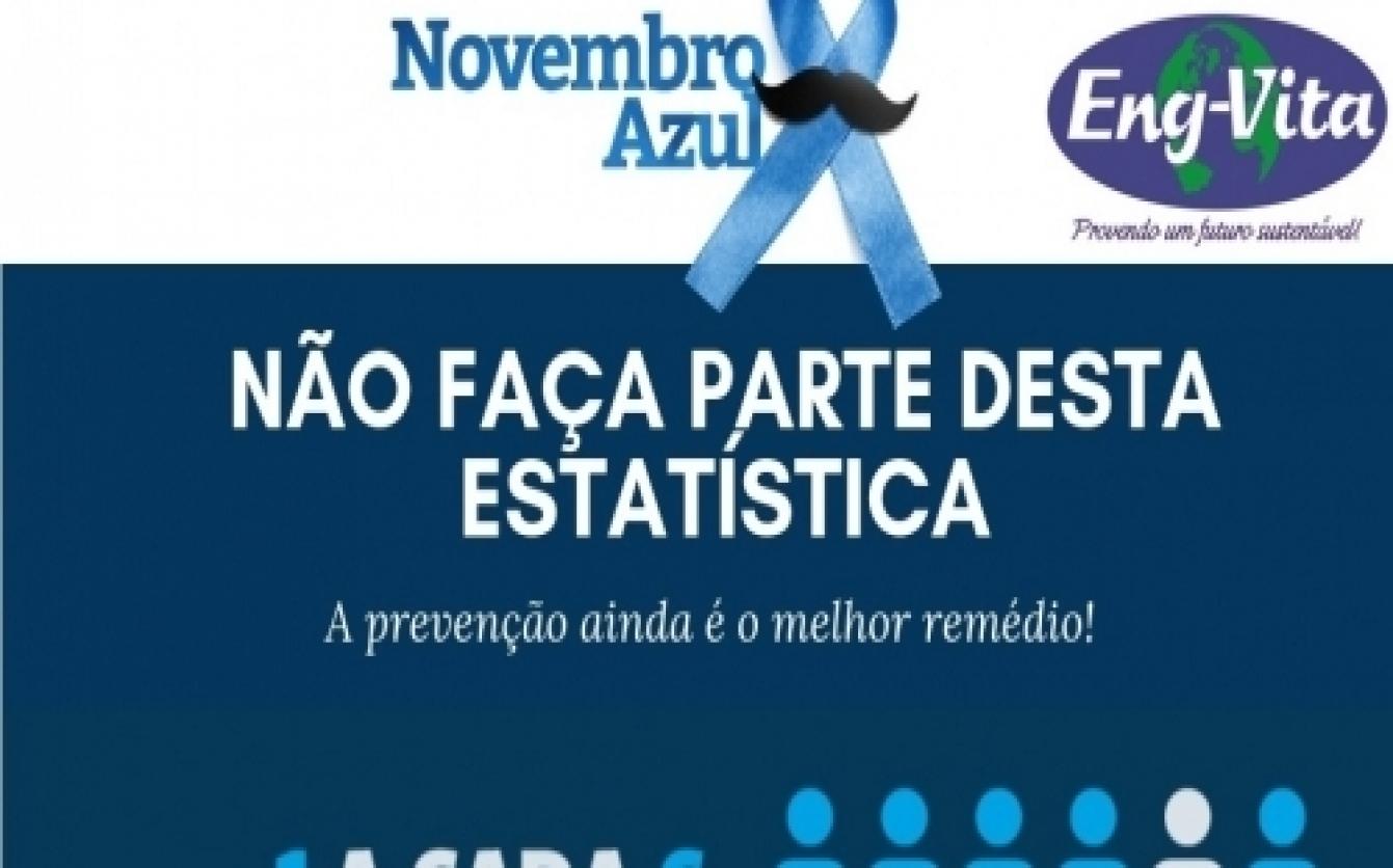 Novembro azul - Não faça parte desta estatística!